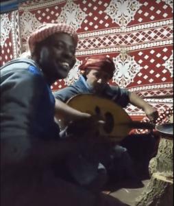 la storia di saber wadi rum giordania